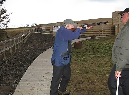 clay pigeon shooting Edinburgh