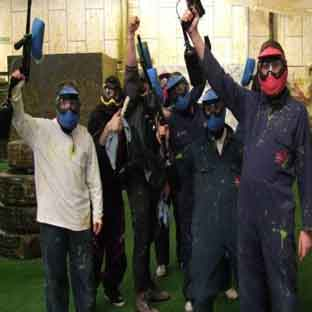 indoor paintball Edinburgh