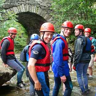 Canyoning in Edinburgh