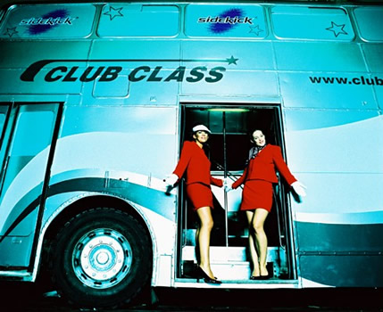 party bus edinburgh