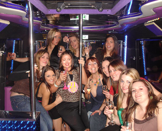 party bus edinburgh