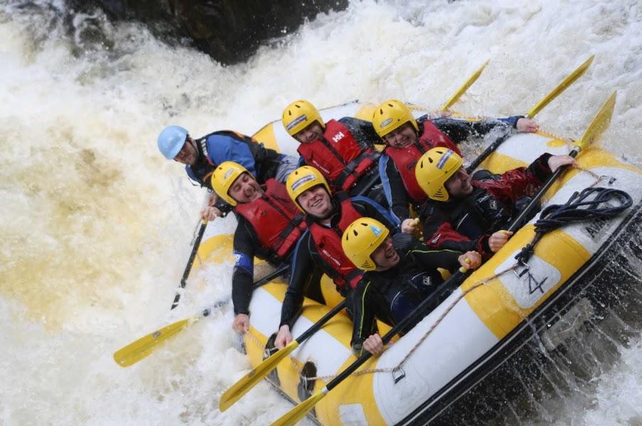 Rafting Edinburgh