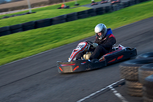 Ultimate Outdoor karts Edinburgh