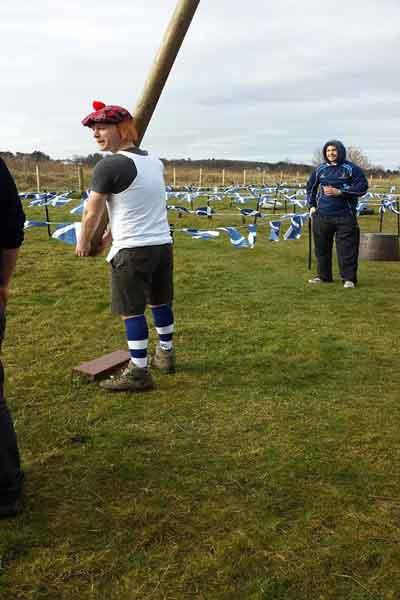 Mini Highland Games Edinburgh