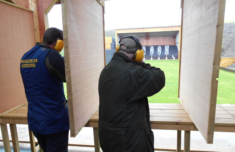 Outdoor Rifle range Edinburgh