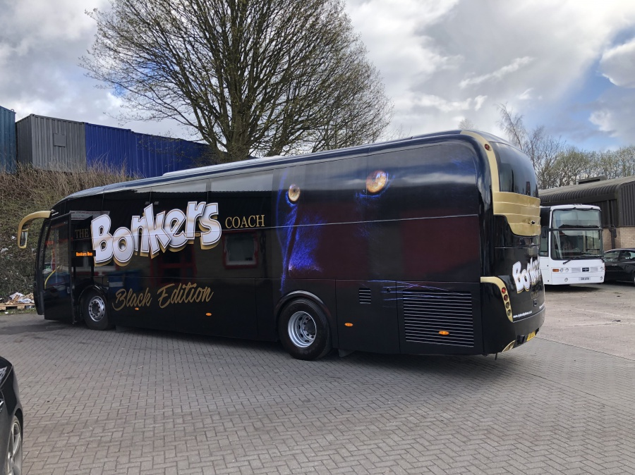Black Bonkers Bus Edinburgh