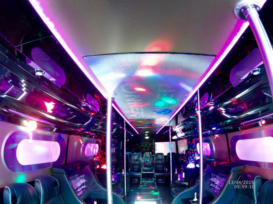Bonkers party Bus