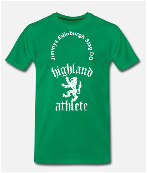 Edinburgh Stag Do T shirts